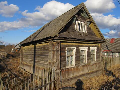 Деревянный дом и участок 6,5 сот в д.Бор Кировского р-на (85км от спб) - Фото 2