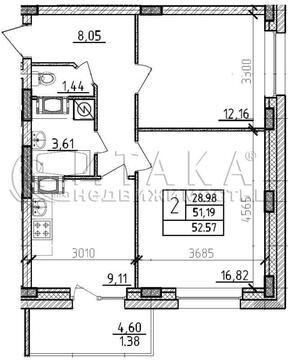Продажа квартиры, Мурино, Всеволожский район, Бульвар Менделеева ул - Фото 1