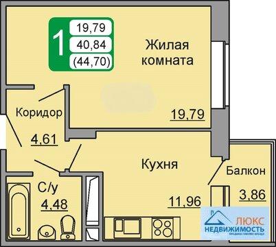 Квартира в новостройке г. Подольска