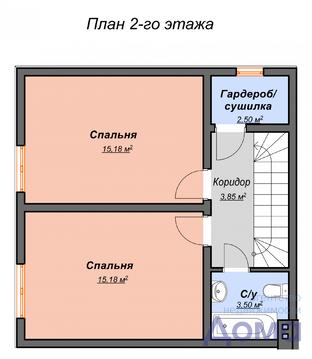 Продам квадрохаус 120м2 п. Рублево-Медвенское - Фото 3