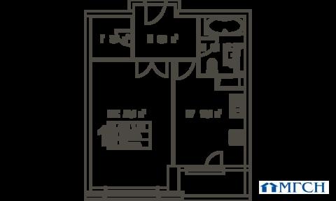 1-комн квартира в ЖК Дыхание 52 м2 - Фото 1
