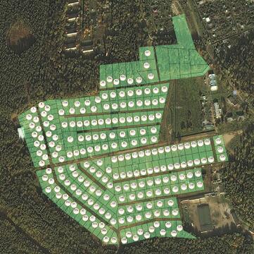 При лесной участок в формирующемся поселке. Новая Москва. - Фото 2