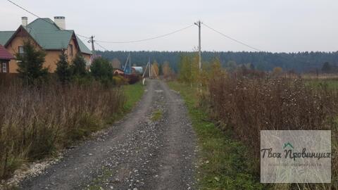 Участок 12 соток с лесными видами в деревне Протасово Ступинского р-на - Фото 5