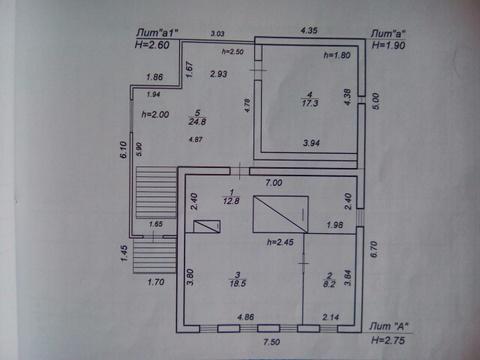 Продается крепкий дом 82 кв.м. из