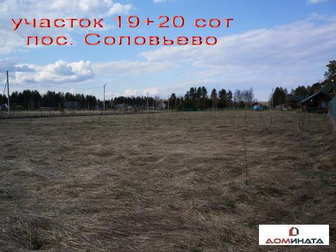 Продается участок 39 соток пос. Соловьево - Фото 3