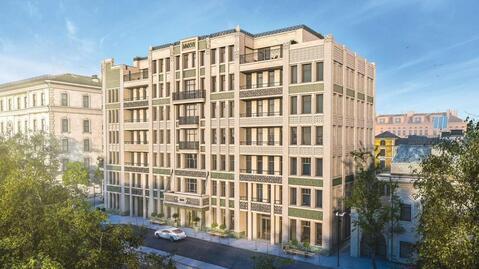 Комфортный апартамент 50,5 кв. м в доме deluxe на Покровском бульваре - Фото 2