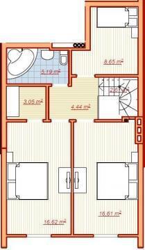 4 комнатная квартира в Геленджике на ул.Южной - Фото 2