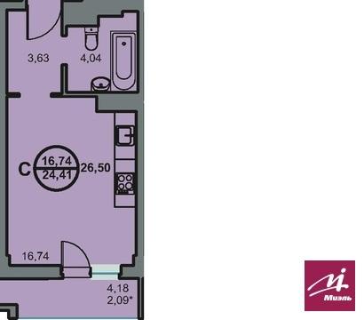 Продается 1ком кв ул Новоремесленная 13, Купить квартиру в Волгограде по недорогой цене, ID объекта - 321745444 - Фото 1