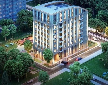 2-комн. квартира 72,6 кв.м. в доме премиум-класса в ЦАО г. Москвы - Фото 1