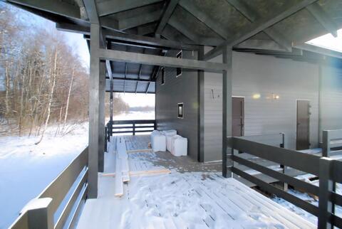 Уникальный проект дома с баней, на участке 14 соток с выходом к воде - Фото 4