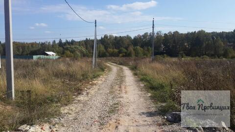 Участок 15 соток в деревне Скурыгино Чеховского Района - Фото 5