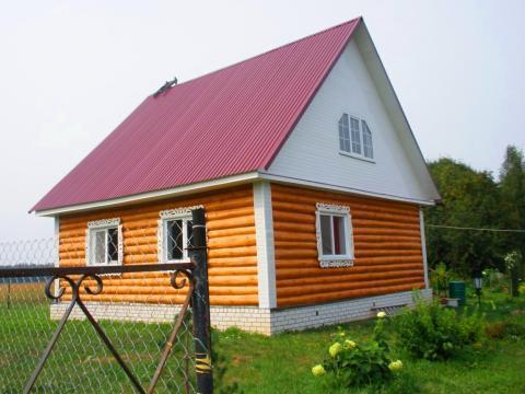 Дом в д. Бельцы, 110 км от МКАД, щелк, горьк, яросл. ш - Фото 1