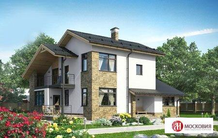 Дом 168 кв.м. на участке 12 соток Калужское/Киевское ш, 30 км от МКАД - Фото 1
