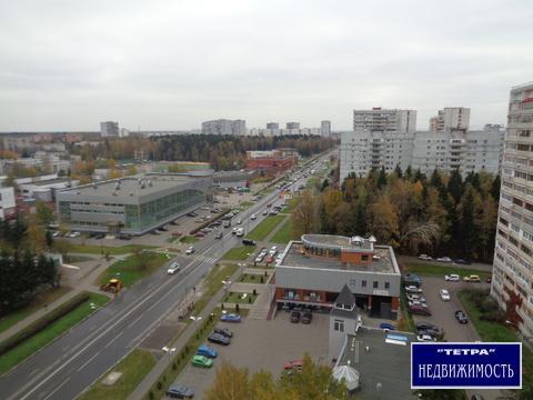 1 комнатная кв в г.Троицк, Октябрьский проспект дом 3б - Фото 2
