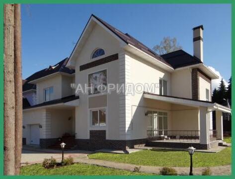 Дом под ключ 380 кв.м. 15 сот в лесном поселке 20 км от МКАД - Фото 1
