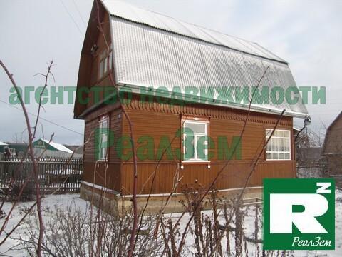 Двухэтажная дача 60 квадратных метров в СНТ Газовик. - Фото 1