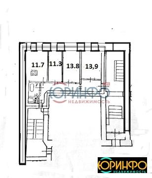 Квартира 68.6 кв м 1/6 Большой пр-кт пс,33 - Фото 2