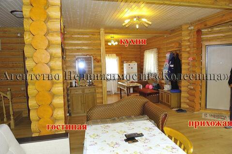 Балабаново. Жилой коттедж из бревна в кп Загорье, 5 спален, 2 санузла. - Фото 5