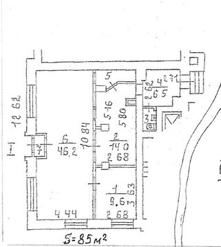 Предлагается в аренду помещение типа street retail общей площадью 85м2 - Фото 4