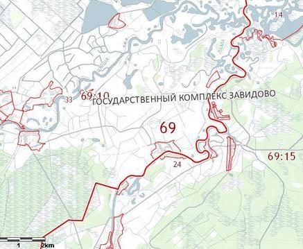 Земельные участки на территории Госкомплекса Завидово
