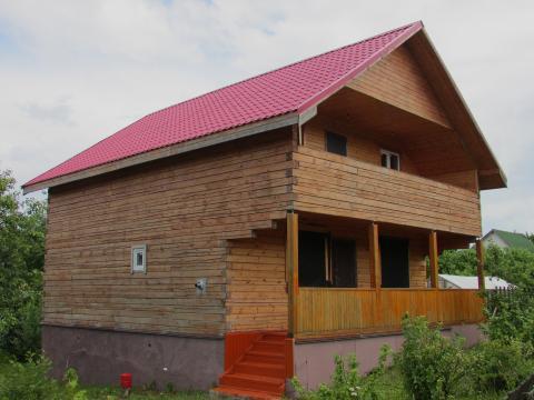 Дом 140 м2, Прописка, г. Струнино - Фото 1