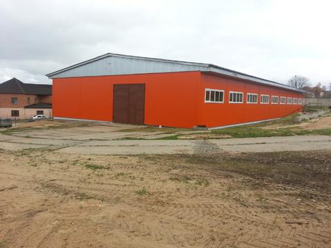 Помещения пл. 600 м2 под склад, производство, теплый склад, склад . - Фото 1