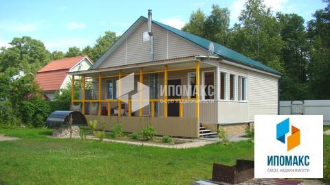 Продается дом 100 кв.м, участок 6 соток, Новая Москва, Киевское шоссе - Фото 1