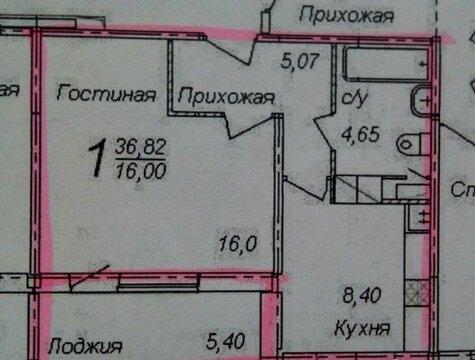 Однокомнатная квартира на Колхозной - Фото 1