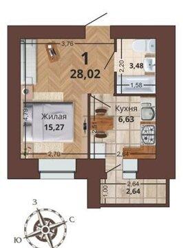 Продам 1 комн квартиру в доме Премиум класса в Канищево