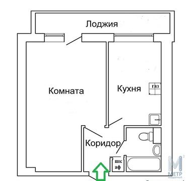 Квартира с большой лоджией на два окна - Фото 1