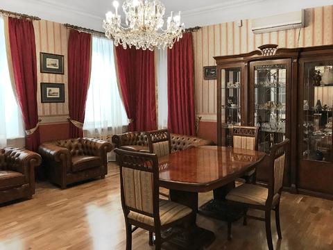 3-х комнатная кв-ра в центре Москвы, Гагаринский пер. - Фото 1