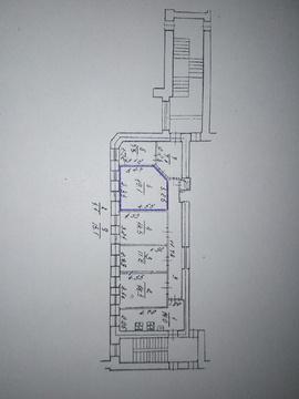 Продается комната в 5-комнатной квартире, Московский пр, 18 - Фото 3