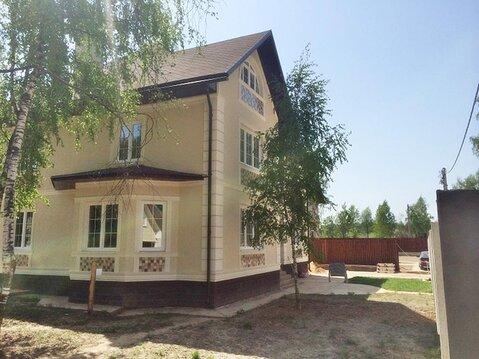 Кирпичный дом 400 м2, чистовая отделка, газ и свет, Калужское ш 24 км - Фото 1