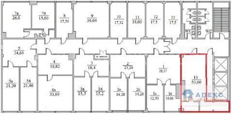 Аренда офиса пл. 54 м2 м. Семеновская в бизнес-центре класса В в . - Фото 1