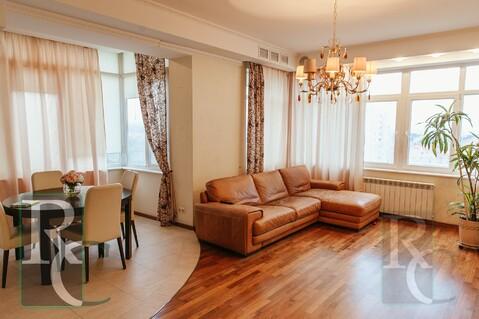 Видовая трехкомнатная квартира в центре Севастополя - Фото 2