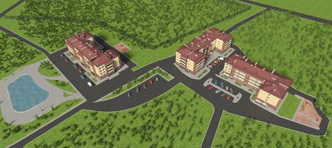 Квартира в новом кирпичном доме в самом центре Брагино - Фото 3