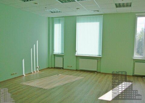 Офисное помещение 540 кв.м у метро Калужская в бизнес-центре класса А - Фото 1