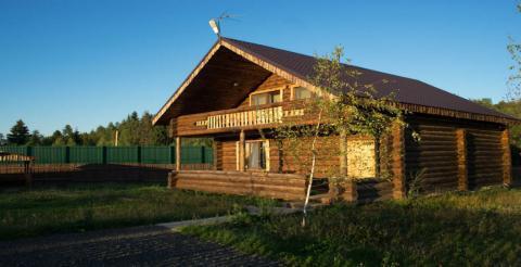 Деревянный коттедж с купелью на 15 человек в Васюково - Фото 2