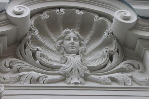 Псн фасадное помещение в Риге в доме Югендстиля на ул. Альберта - Фото 5