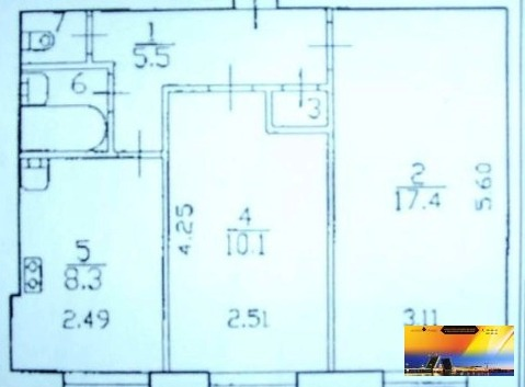 Двухкомнатная квартира на Замшина в доме 606с. по Привлекательной цене - Фото 3