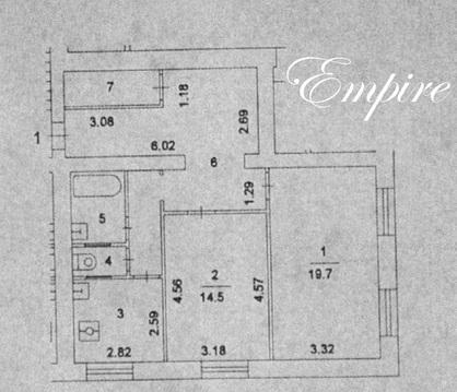 Сдается большая 2-х комнатная квартира - 3-й проезд Подбельского д.16б - Фото 1
