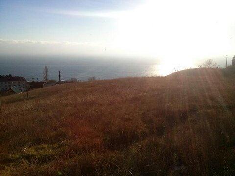 Продам земельный участок 5 соток, г. Ялта, пос. Парковое. Вид на море. - Фото 1