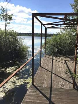 Дом 450 м на уч-ке 30 с, со своим выходом на озеро - Фото 1