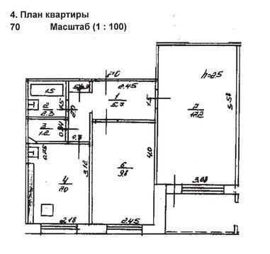 Продается двухкомнатная квартира, ул. Муксинова, 1