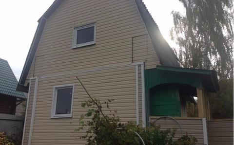 Продается 2-этажная дача из бруса сдт Колос, Сосновая ул. - Фото 1