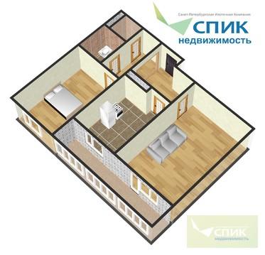 Отличная солнечная квартира в кирпичном доме - Фото 1