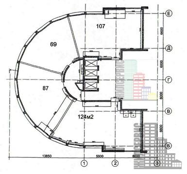 """Помещение 400м на первом этаже бизнес-центра """"9 акров"""", метро Калужска - Фото 2"""