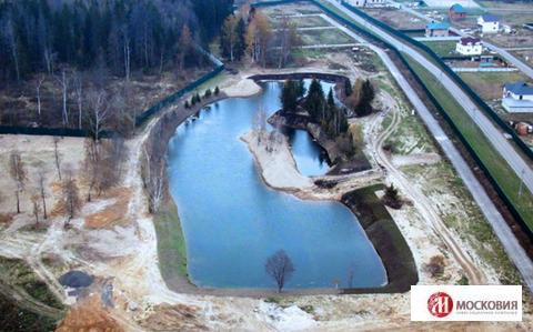 Участок 16 соток с собственным прудом, ИЖС, 40км от МКАД Киевское ш. - Фото 1