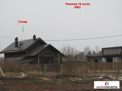 Продам участок 19 соток ИЖС д. Реполка 90 км от спб Гатчинское шоссе - Фото 2