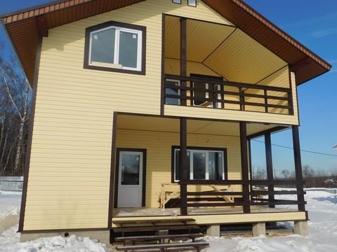 Межозерье. Новый коттедж ( дом ) для ПМЖ в деревне у озера - Фото 5